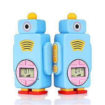 2pcs Kinder Walkie-Talkie Tragbares Walkie-Talkie mit 14 Kanälen
