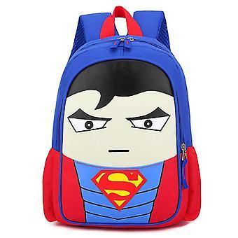 Super-héros Film Personnage Garçons Filles 12» École Sac à dos Taille