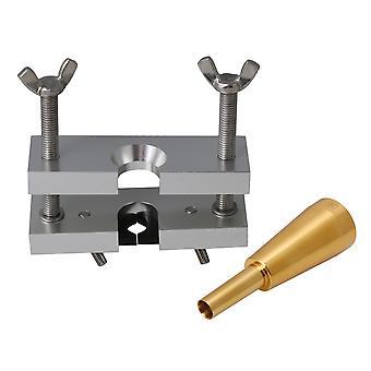2 pièces 8.7x 2.7cm Golden Trumpet Mouthpiece & Golden Mouthpiece Puller