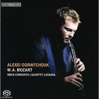 W.a. Mozart - Mozart: Oboe Concerto; Quartet; Sonata [SACD] USA import