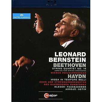 Beethoven/Haydn - String Quartet No. 16/Missa in Tempore Belli [BLU-RAY] USA import