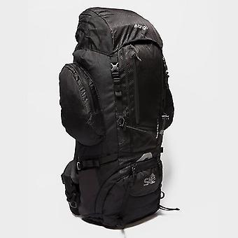 New Vango Sherpa 65 Litre Rucksack Travel Bag Pack Black