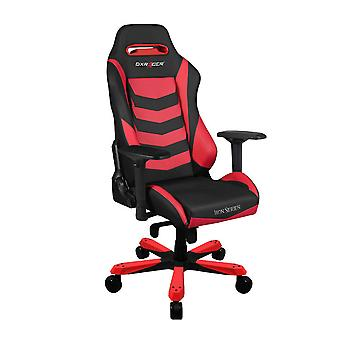 DX Racer DXRacer Iron Series OH/IS166/NR High-Back Boss Executive Chair PU Office Gaming Chair(Black/Red)