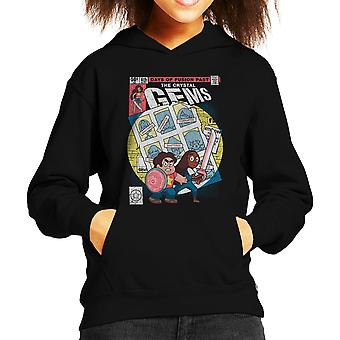 Days Of Fusion Past Steven Universe Kid's Hooded Sweatshirt