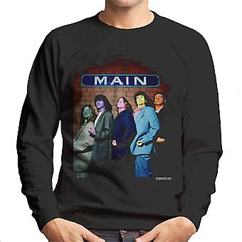 The Zutons Painted Faces Main Men's Sweatshirt