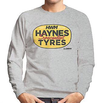 Haynes Brand HWM Specialist Tyres Men's Sweatshirt