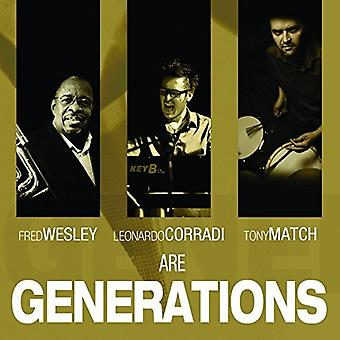 Fred Wesley - Generations [CD] USA import