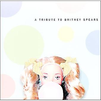 Tribute to Britney Spears - Vol. 1-Tribute to Britney Spears [CD] USA import