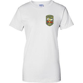Venäjän ilmassa aliupseerit - Elite armeijan erikoisjoukkojen - hyvät rinnassa Design t-paita