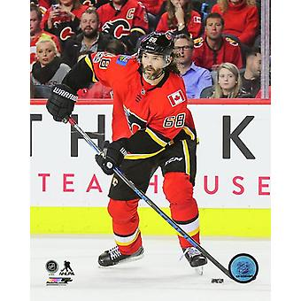 Jaromir Jagr 2017-18 Action Photo Print