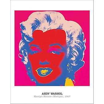 Impression Poster Marilyn Monroe 1967 par Andy Warhol (16 x 20)