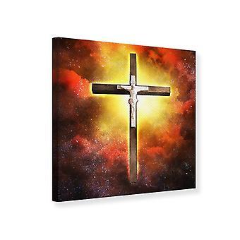 Canvas tulostaa Pyhän Ristin