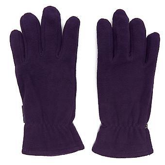 New Peter Storm Women's Thinsulate Double Fleece Gloves Purple