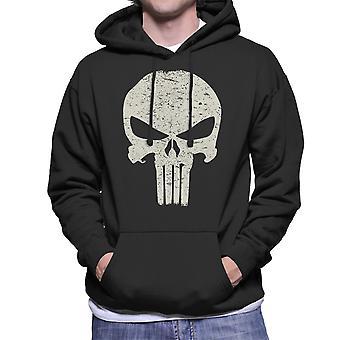 The Punisher Skull Symbol Men's Hooded Sweatshirt
