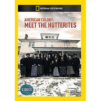 American Colony: Treffen des Hutterer [DVD] USA Imports