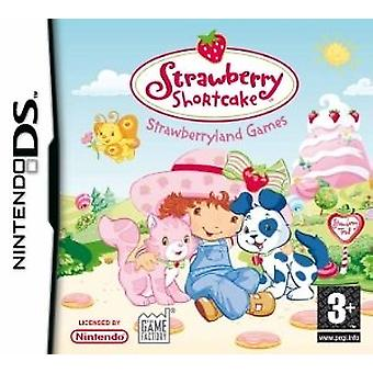 Strawberry Shortcake strawberryland spel (Nintendo DS)-fabriken förseglad