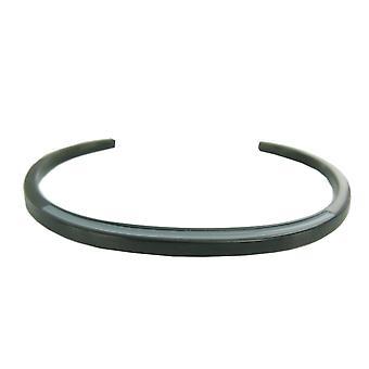Fossile damer armbånd rustfrit stål sort / grå JF01076001