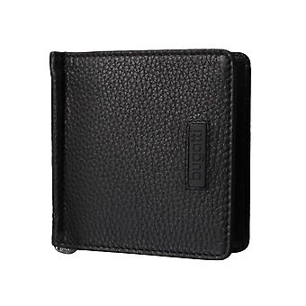 Bugatti mens wallet card case wallet with money clip 3580