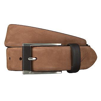 Correa de cuero cinturones de DANIEL HECHTER cinturones hombres Brown 4606