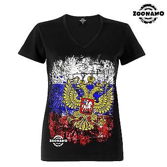 Zoonamo T-Shirt dames klassieke Rusland