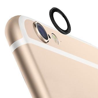 Anillo de protector de la protección de cámara para Apple iPhone 6 plus 5.5 negro