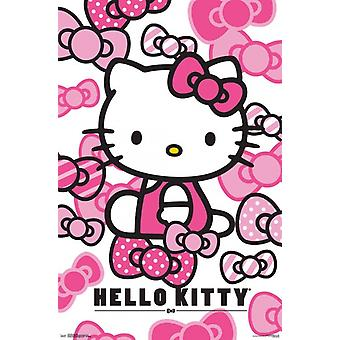 Hello Kitty - rusetit Juliste Tulosta
