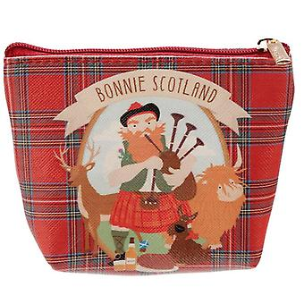 Bonnie Scotland PVC Purse with Scottish Piper by Puckator
