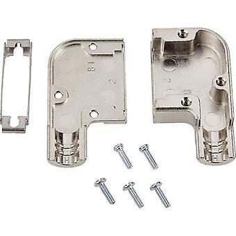 TE Connectivity AMPLIMITE HD-20 (HDP-20) D-SUB Gehäuse Anzahl der Stifte: 15 Diecast Zink 90 ° Silber 1 Stück