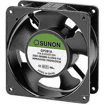 Sunon DP201A2123HST. GN støpsel fan 230 V AC 177 m³/t (L x b x H) 120 x 120 x 38 mm
