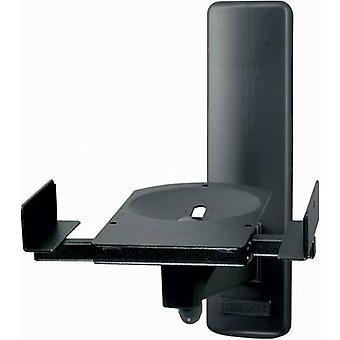 B-Tech BT77 högtalare väggfäste tiltable, sväng avstånd till vägg (max.): 27,3 cm svart 1 par