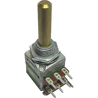 Potentiometer Service 4162 Single turn rotary pot Stereo 0.2 W 1 kΩ 1 pc(s)