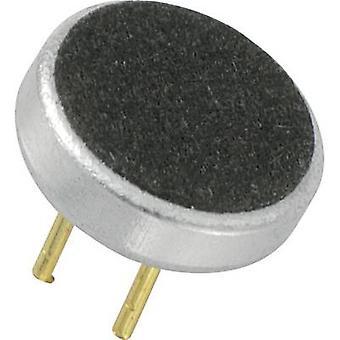 Microphone capsule 2 - 10 V DC Frequency range=20 Hz - 16000 Hz KEPO KPCM-G60H15PC33-44DB-1177
