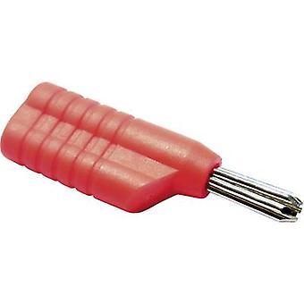 Schnepp S 4041 S Banana plug Plug, straight Pin diameter: 4 mm Red 1 pc(s)