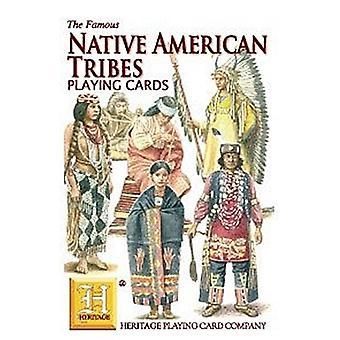 Native American heimojen joukko 52 kortin pakalla (+ Jokerit)