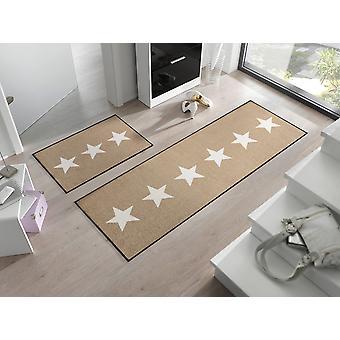 hiekkaa pestä + kuivalla pestävä lattialla matto matto tähteä