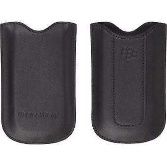 OEM Blackberry 8100 8110 8120 8130 nahka taskuun pussi