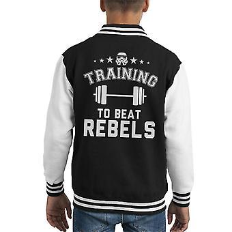 Originele Stormtrooper opleiding tot Beat rebellen Kid's Varsity Jacket
