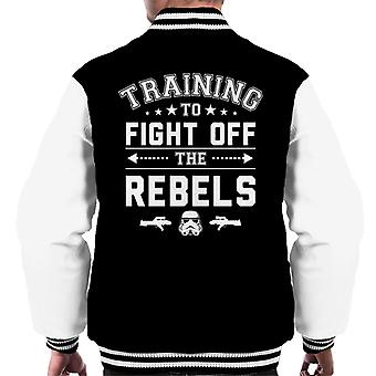 Original Stormtrooper Training To Fight Off Rebels Men's Varsity Jacket