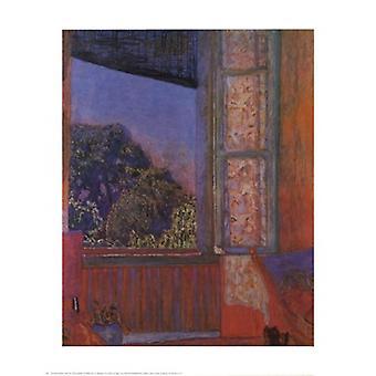 Open Window Poster Print by Pierre Bonnard (22 x 28)