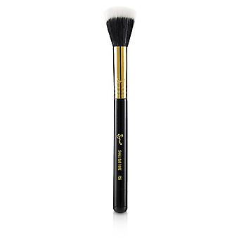 Sigma Beauty F55 Small Duo Fibre Brush - # Black/18k Gold - -