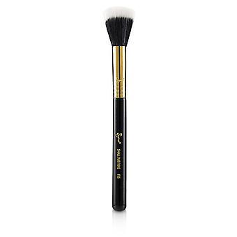 Sigma Beauty F55 Pincel de Fibra Dúo Pequeño - Negro/18k Oro - -