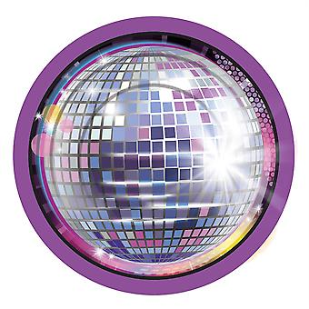 Disco Small Plate (8pc)