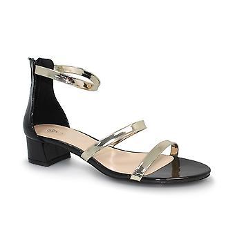 Lunar Martha Metallic Strap Sandal