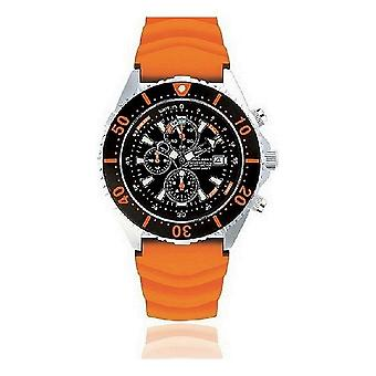 CHRIS BENZ - Diver watch - DEPTHMETER CHRONOGRAPH 300M - CB-C300-O-KBO