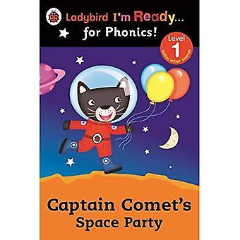 Kapitein komeet van ruimte partij Ladybird I 'm Ready for Phonics: niveau 1 (Im klaar voor Phonics niveau 01)