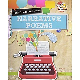 Läsa, recitera och skriva berättande poesi (poetens Workshop)