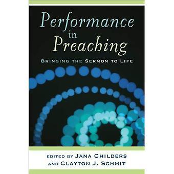 Performance in Preaching (Engaging Worship)