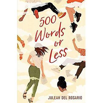 500 woorden of minder