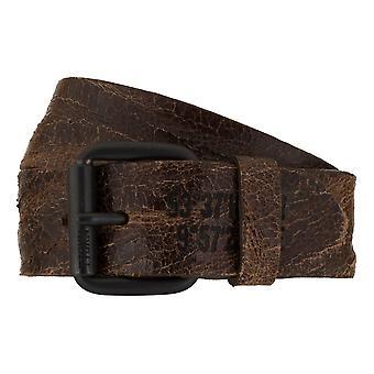 Jeans de TOM TAILOR correa cuero cinturones hombre cinturones cinturón marrón 7804