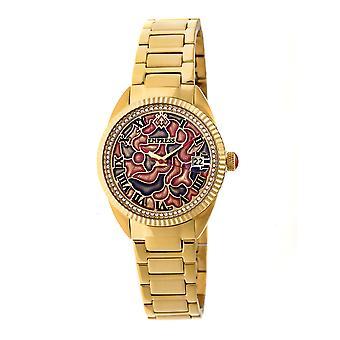 Empress Helena Bracelet Watch w/Date - Gold